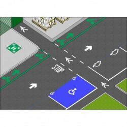 ampere reusable floor stencils - kit city